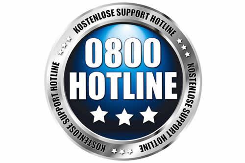 0800 120 9 100 - zusätzliche neue Rufnummer (kostenfrei)